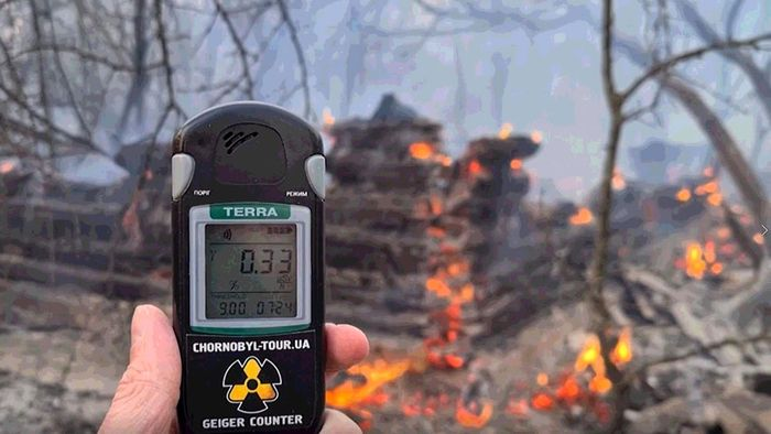 Erhöhte Radioaktivität: Wald bei Tschernobyl in Brand geraten