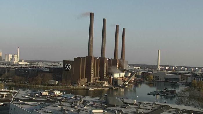 Zeitraffer Wolfsburg