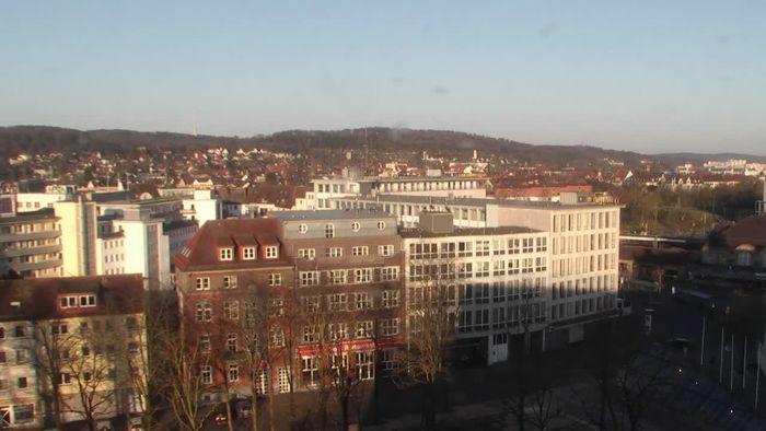 Zeitraffer Bielefeld