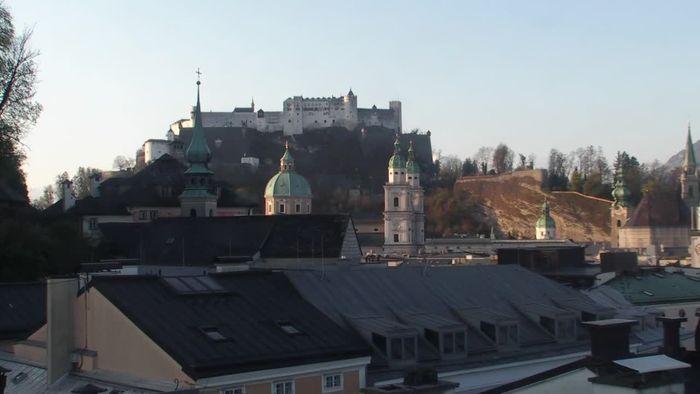 Zeitraffer Salzburg