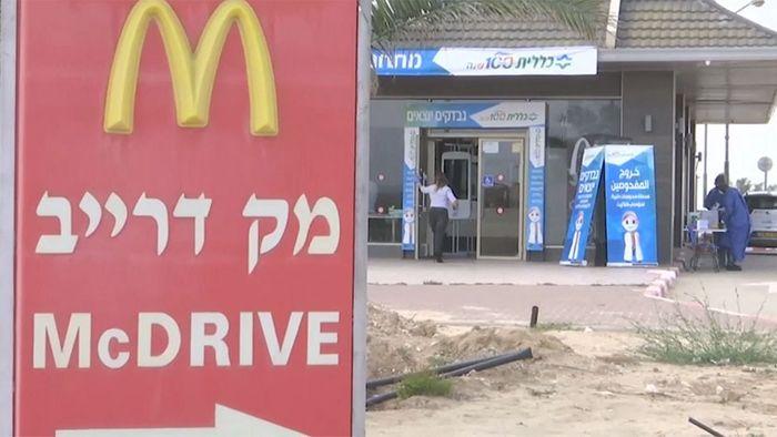 McDonald's Drive-In wird zur Corona-Teststation