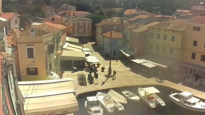 HD Live Webcam Veli Lošinj - Lussingrande - Main Square