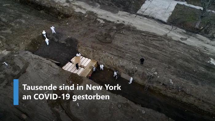 Drastisches Video: Massengräber für die Ärmsten von New York