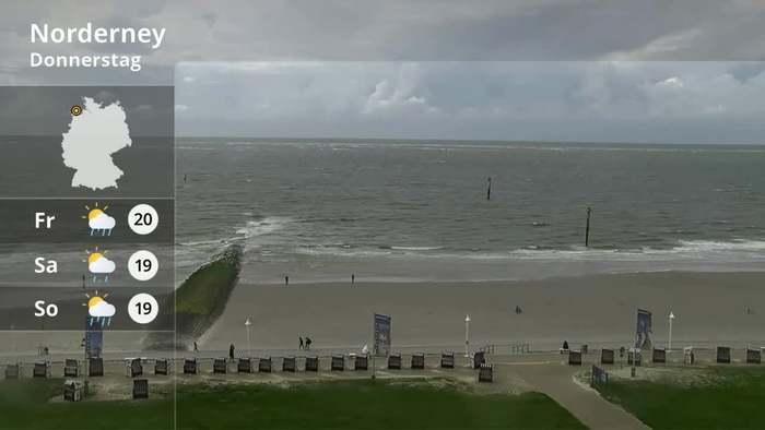 LiveCam TV - aktuelle Wetterbilder von der Küste bis in die Alpen