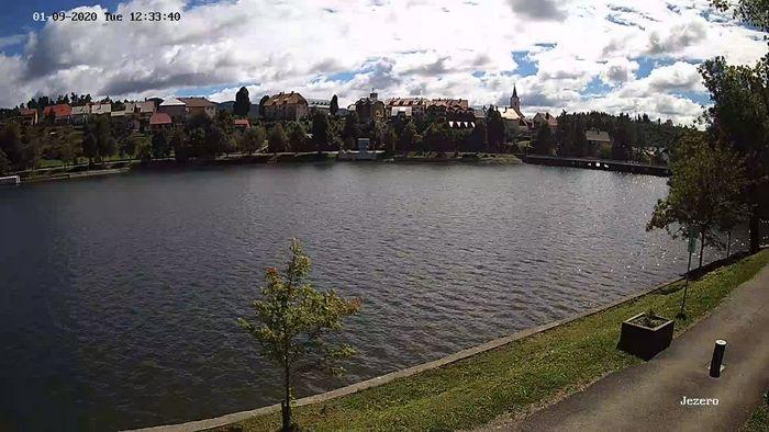 HD Live Webcam LIVE Lake Bajer livecam Bajersko Jezero Fužine