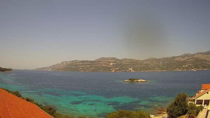 HD Live Webcam Korčula - Tri Žala Bucht