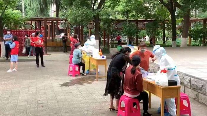 Elf Millionen Corona-Tests in zehn Tagen: Wuhan will alle Einwohner testen