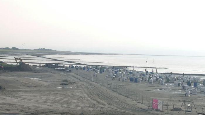 HD Live Webcam Norden-Norddeich - Grünstrand und Drachenwiese