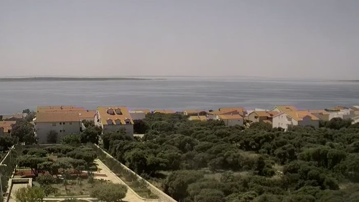 HD Live Webcam Mandre - Insel Pag - Panorama