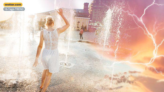 Wetter 16 Tage: Sommer gibt bald Vollgas! So heiß und schwül kann es werden