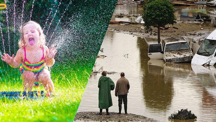 Wetter 16 Tage: Unwetterpotenzial bis in 3. Juni-Dekade