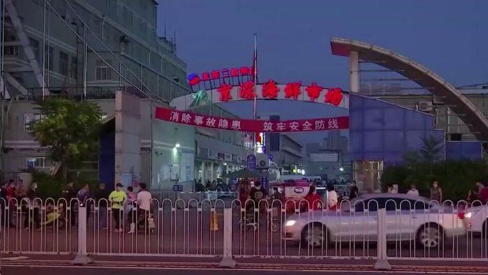 Zweite Welle? Corona-Ausbruch auf Markt in Peking