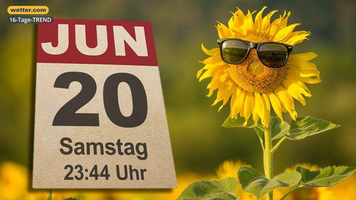 Wetter 16 Tage: Hitzewelle rollt auf Deutschland zu