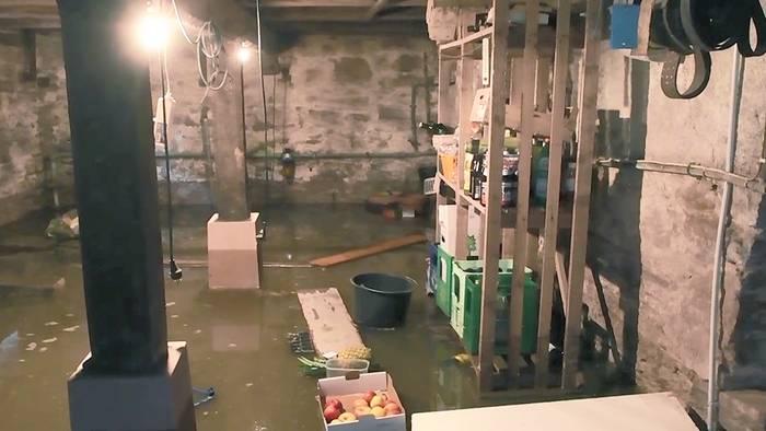 Wenn dein Keller unter Wasser steht, musst ein paar Dinge beachten.