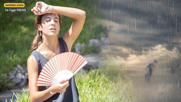 Wetter 16 Tage: Sorgt ein Tief für den erneuten Hitzeschub?