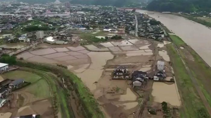 Japan: Neue Sorgen nach Überschwemmungskatastrophe