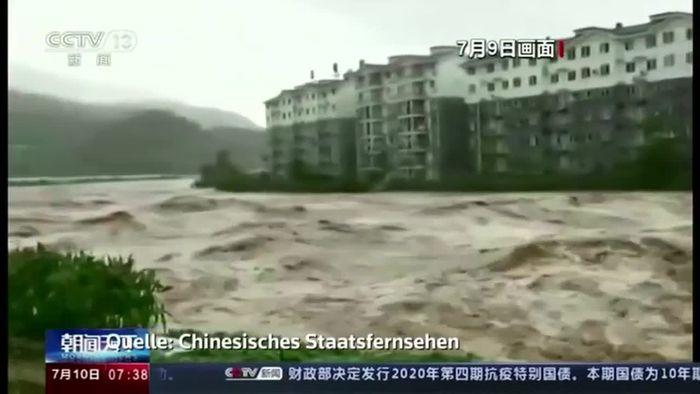 Weit über 100 Tote nach Überschwemmungen in Südchina