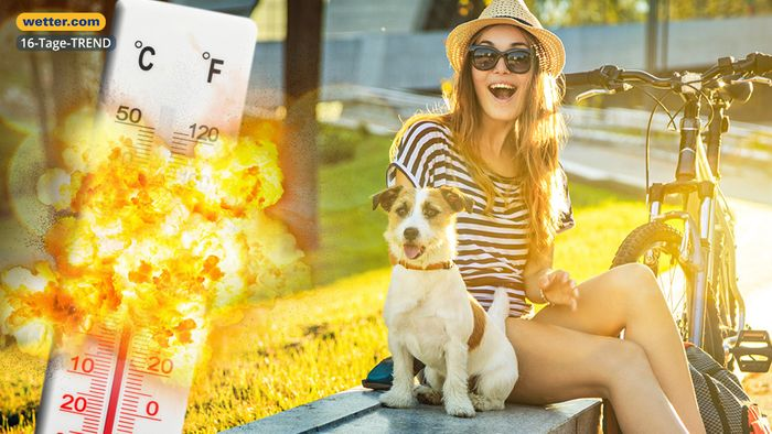 Wetter 16 Tage: Hundstage-Start mit heißem Knall?