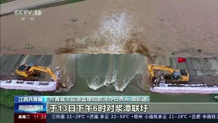 Überflutungskatastrophe in China: Niederschlag auf höchstem Stand seit 1961