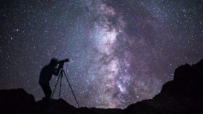 Sternschnuppen zu fotografieren ist nicht einfach.
