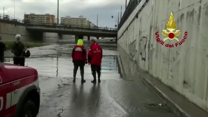 Überflutungen auf Sizilien fordern Todesopfer