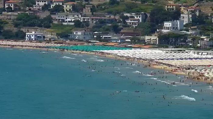 HD Live Webcam Gaeta - Serapo Strand - Spiaggia di Serapo