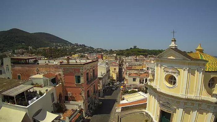 HD Live Webcam Ischia - Via Roma - Santa Maria delle Grazie in San Pietro