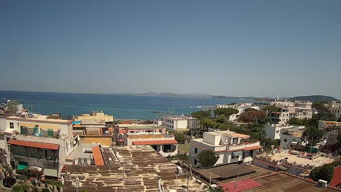 HD Live Webcam Ischia - Golf von Neapel