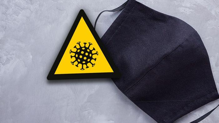 Hersteller haben Corona-Masken entwickelt, die Viren abtöten können.