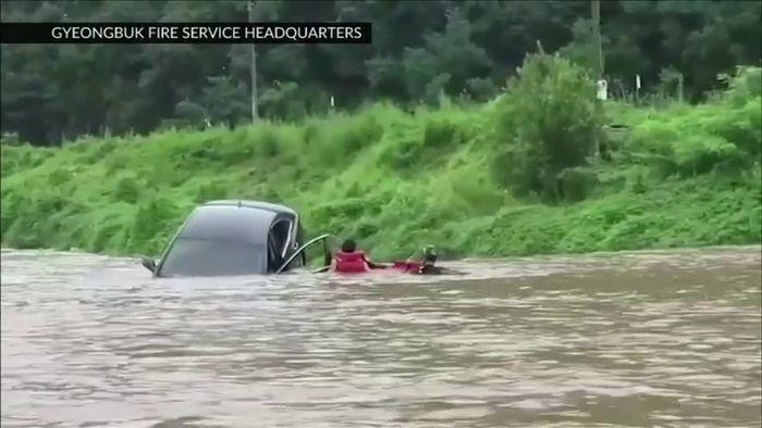 Tote und Obdachlose in Südkorea: Die längsten Monsun-Regenfälle der letzten sieben Jahre