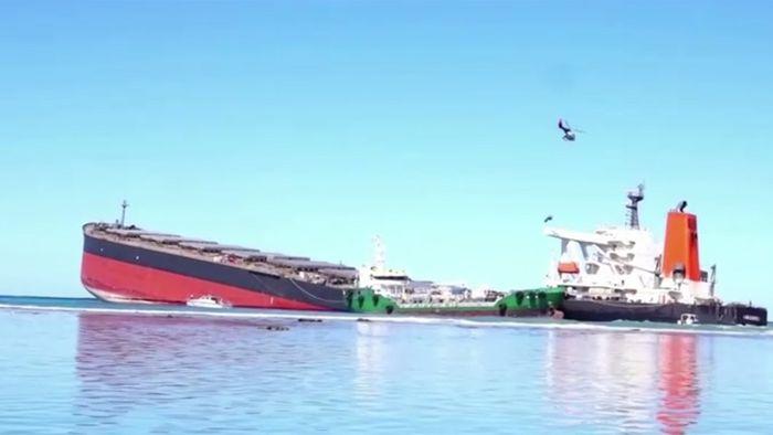 Kampf gegen Ölpest: Erfolgsmeldung aus Mauritius