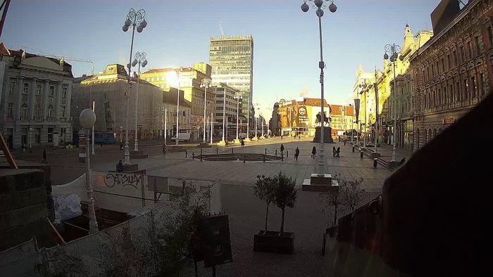 HD Live Webcam Zagreb - Ban-Jelačić-Platz