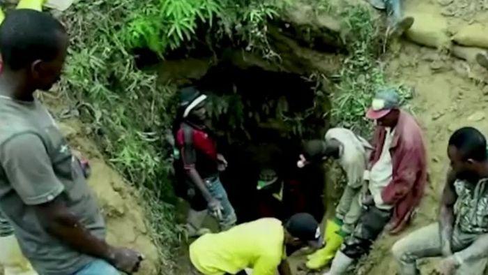 Dutzende Tote nach Grubenunglück im Kongo
