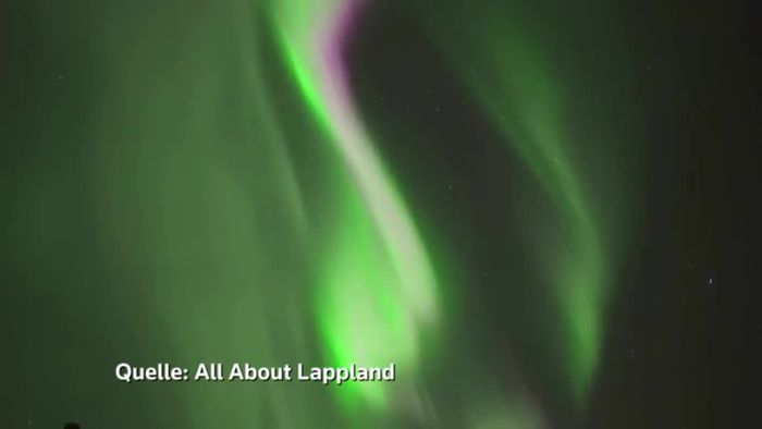 Aurora Borealis - Buntes Spektakel über Lappland