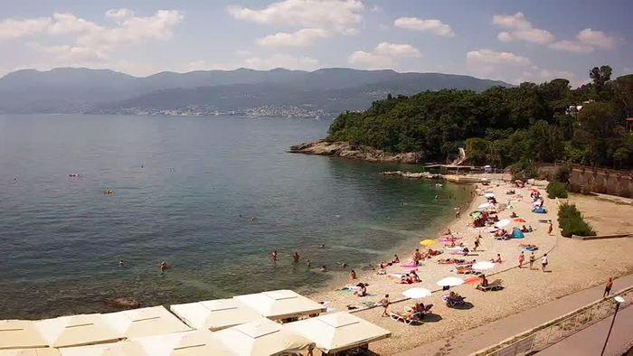 HD Live Webcam Rijeka - Bazeni Kantrida