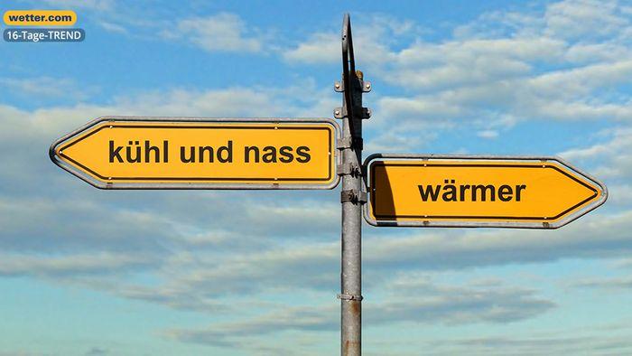 Wetter 16 Tage: Richtungswechsel! 2. Oktoberhälfte deutlich wärmer