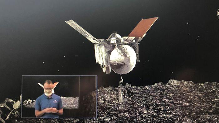 """NASA-Coup! Sonde entnimmt Gesteinsprobe von Asteroid """"Bennu"""""""