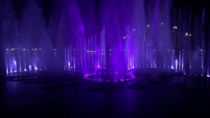 Größter Brunnen der Welt eingeweiht