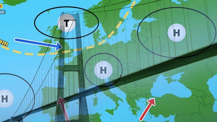 Wetter 16 Tage: Hochdruckbrücke Azoren-Russland?