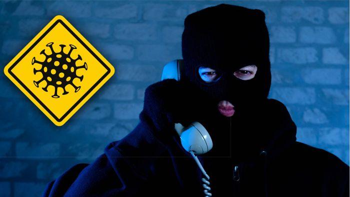 Die Polizei warnt derzeit vor Corona-Betrugsmaschen.
