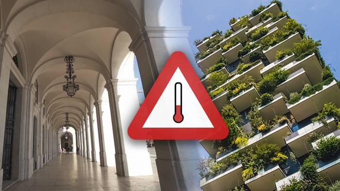 Das Stadtklima wird durch seine Überhitzung in Zeiten des Klimawandels gefährlicher.