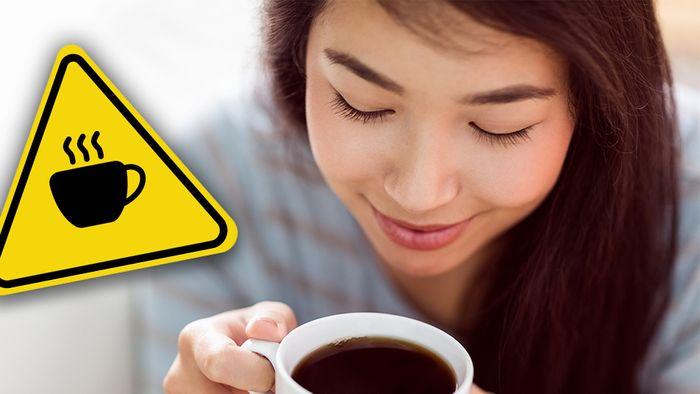 Bei einem zu hohen Kaffeekonsum drohen gesundheitliche Folgen.