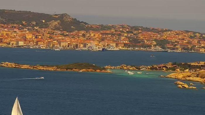 HD Live Webcam Sardinien - Palau - Porto