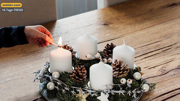 Wetter 16 Tage: Adventszeit startet - Winter wartet