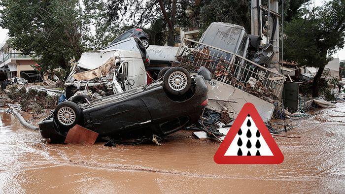 Unwettergefahr! Europa zwischen Orkan und Überflutungen