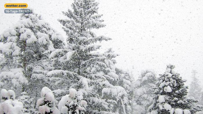 Wetter 16 Tage: Immer wieder Winterschübe