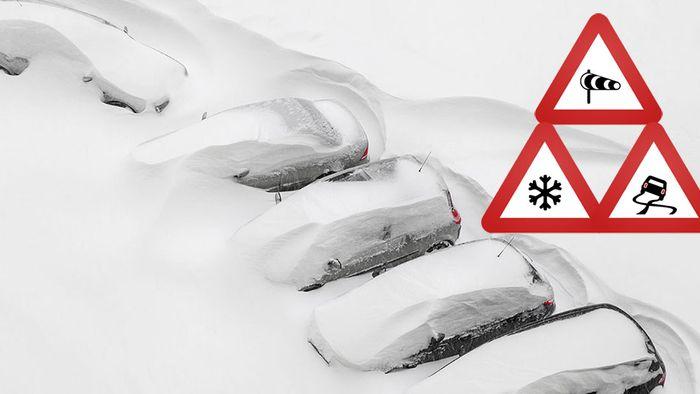 Schneekatastrophen drohen! Alpenländer vor bangen Stunden