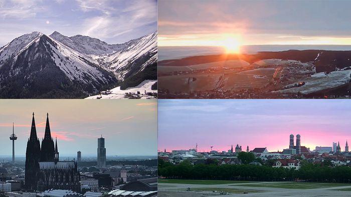 Das waren die schönsten Livecam-Aufnahmen aus dem Jahr 2020.