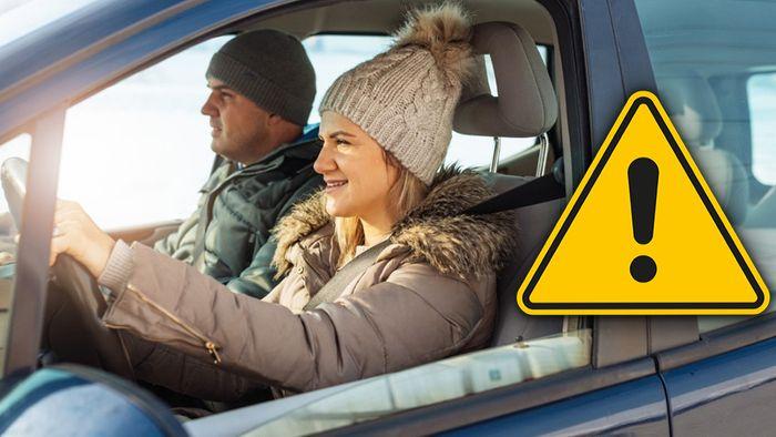 Im Winter kann man als Autofahrer einige Fehler machen.