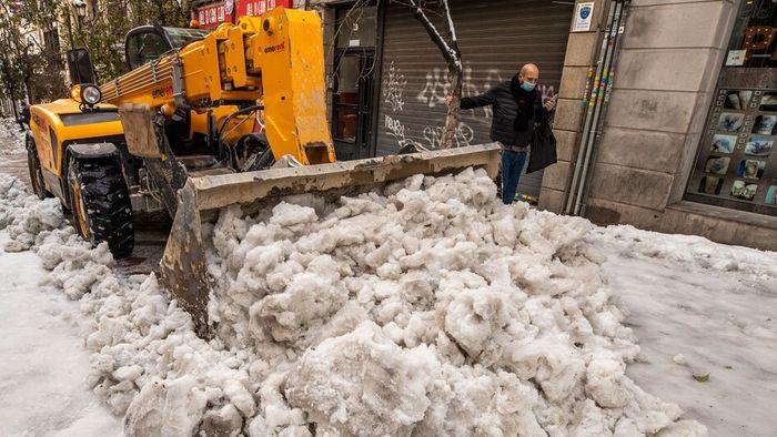 Keine Entwarnung nach Schneechaos: Kältewelle in Spanien droht